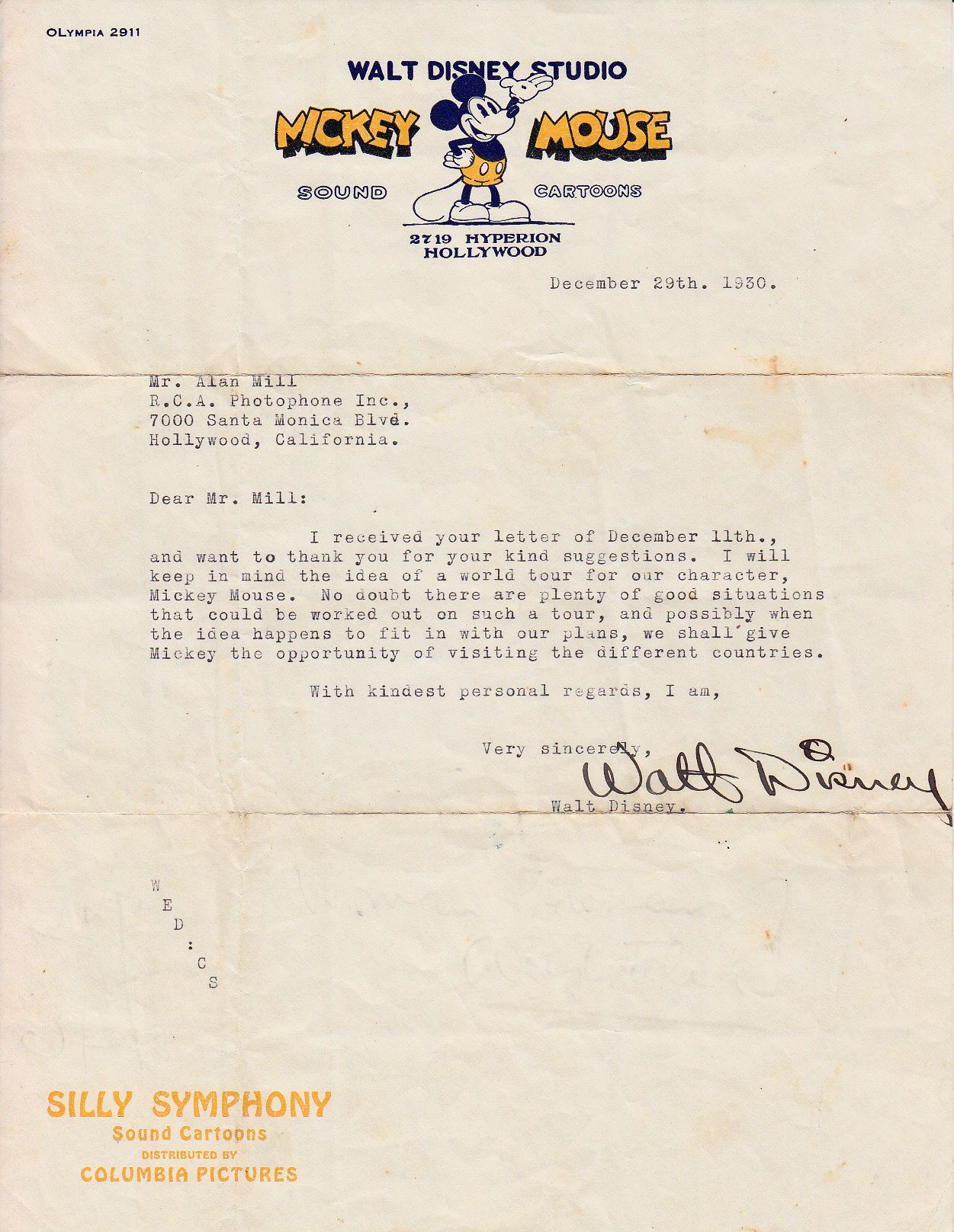 official letters examples