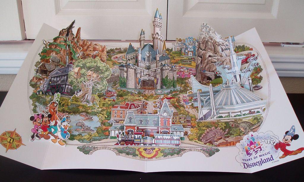 Disneyland block dates